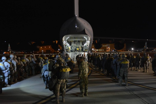 Global Response Force successfully employs 'flying command post'