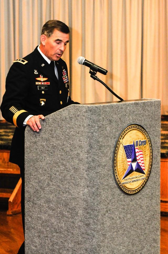 III Corps salutes retiring Soldiers