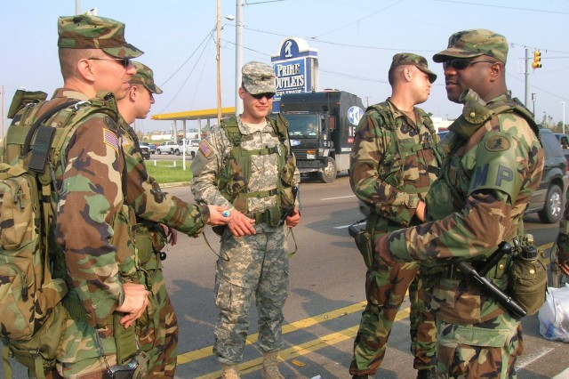 Military Pay Chart 2005: Delaware National Guard supports Operation Vigilant Relief ,Chart