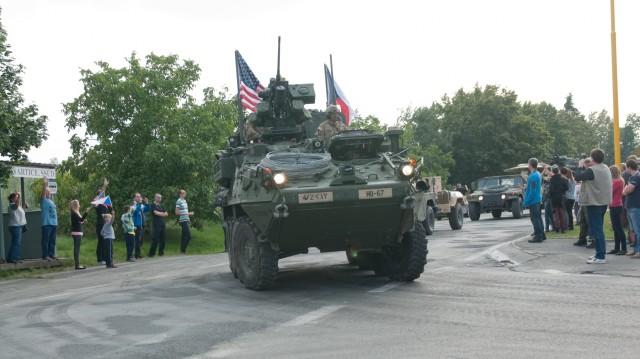 Stryker Regiment begins Exercise Dragoon Crossing