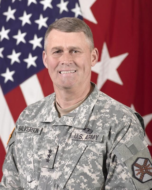 Lt. Gen. David Halverson, commanding general, U.S. Army Installation Management Command and Assistant Chief of Staff for Installation Management