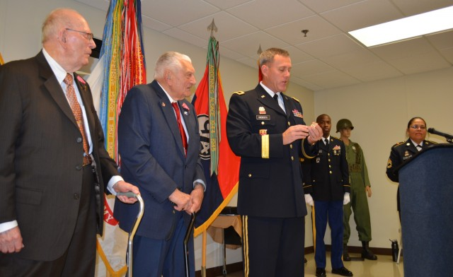 94th Division honors two of its WWII veterans with Bronze Star medals earned 70 years ago