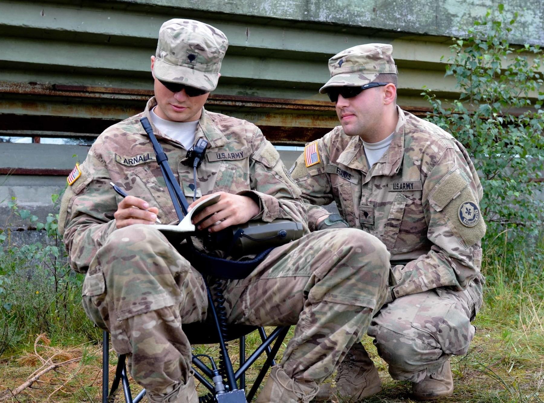 U S Army Heavy Mortar Platoon : Platoons use skills at mortar range in poland article