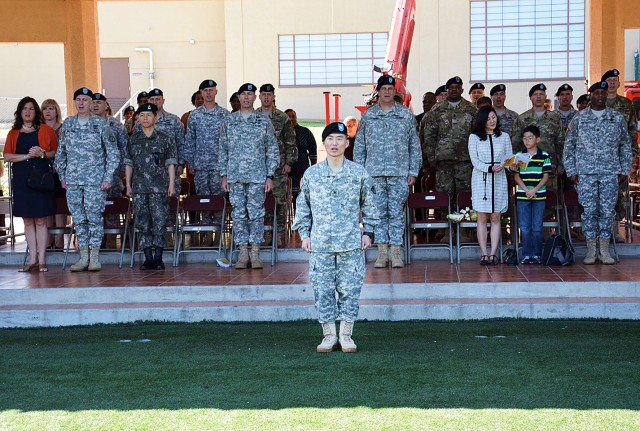 403rd AFSB Change of Command