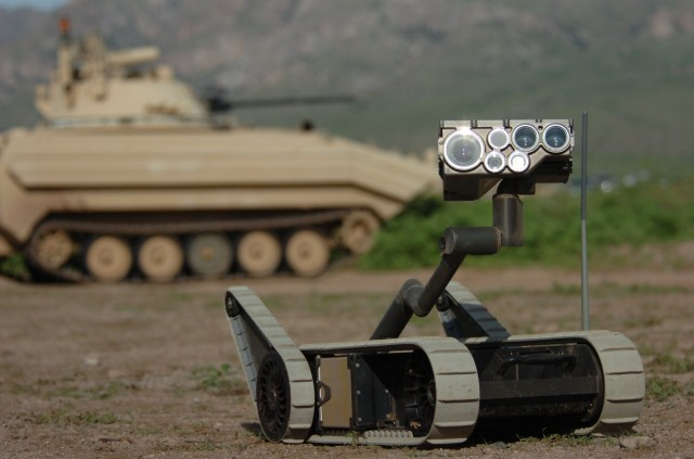 Army to enlist robots to pull wounded Soldiers off battlefield
