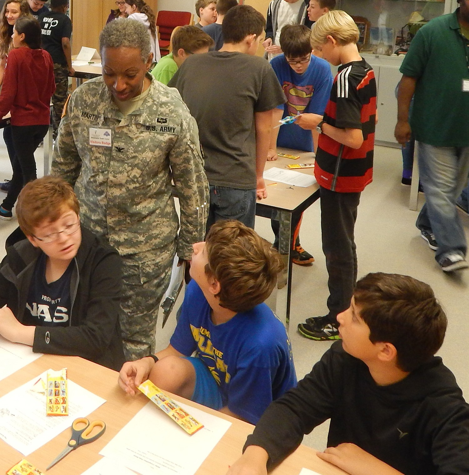 IMCOM Grant Promotes STEM In Middle School/CYSS