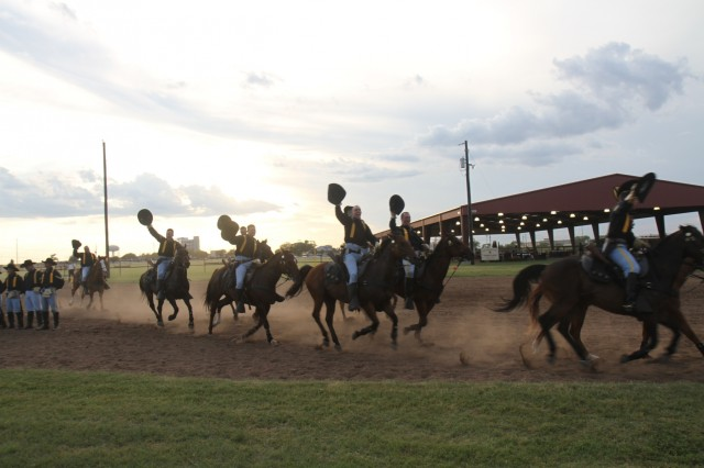 first team s horse detachment maneuvers past competition article