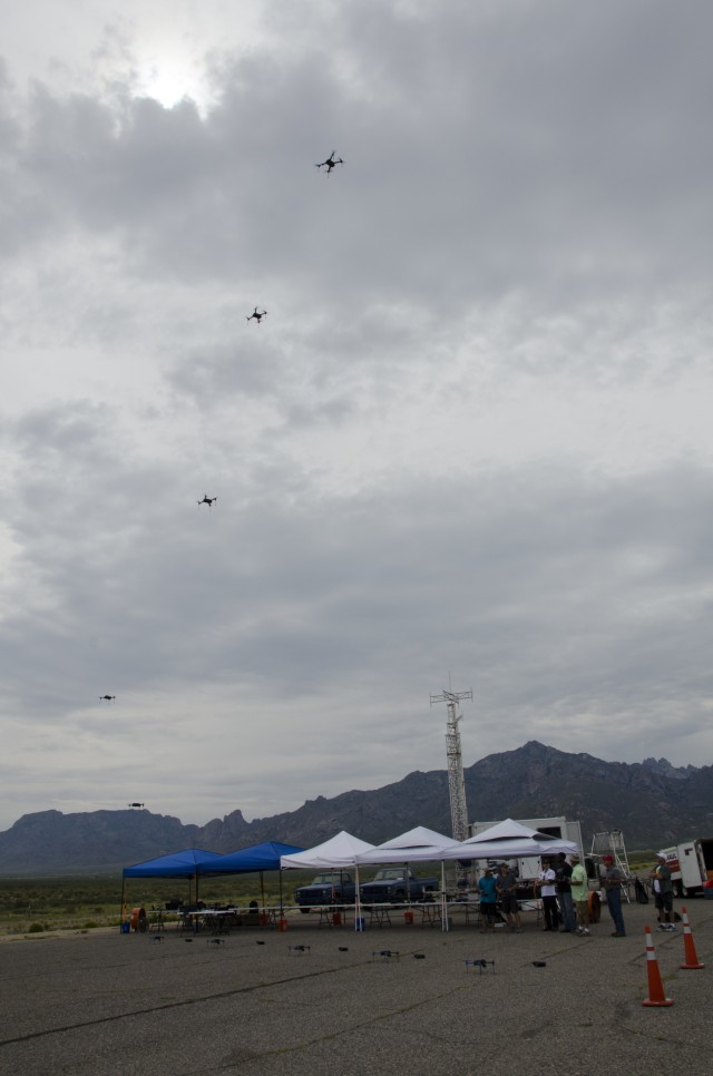 Drones to take Network Integration Evaluation by swarm