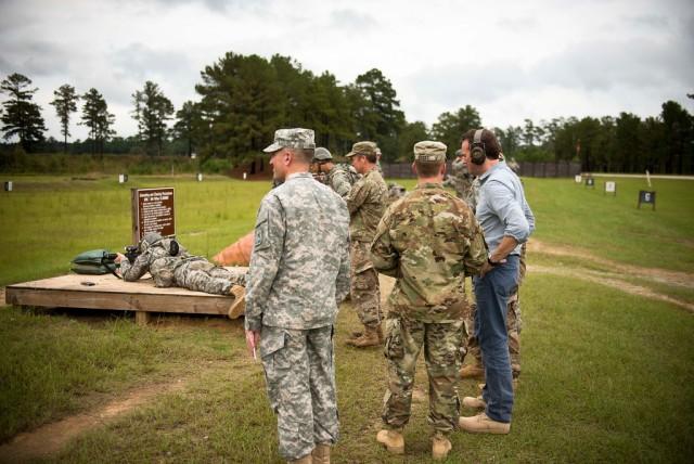 Acting Under Secretary Fanning Visits Fort Benning