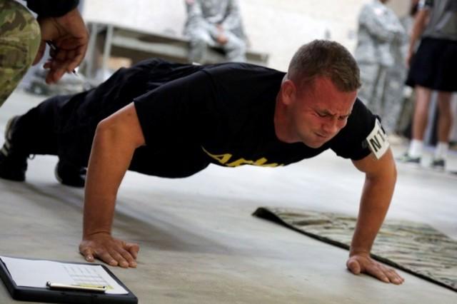 Best Warrior contenders run, climb, navigate