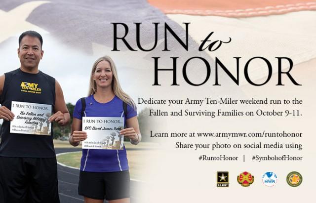 "IMCOM G9's ""Run to Honor"" Campaign"