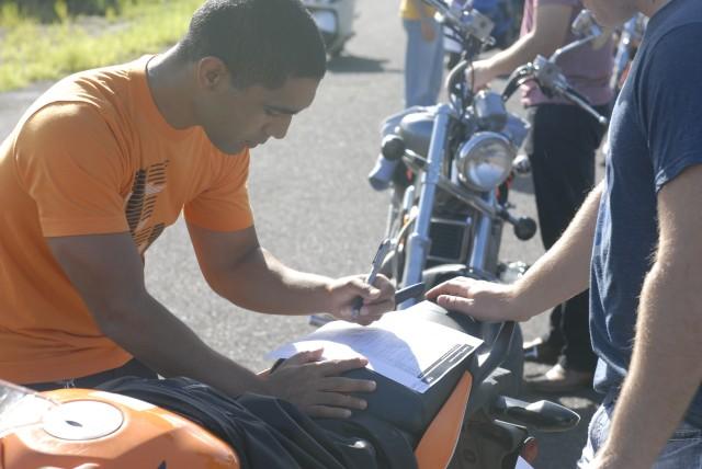 Signal Week Motorcycle Safety Ride