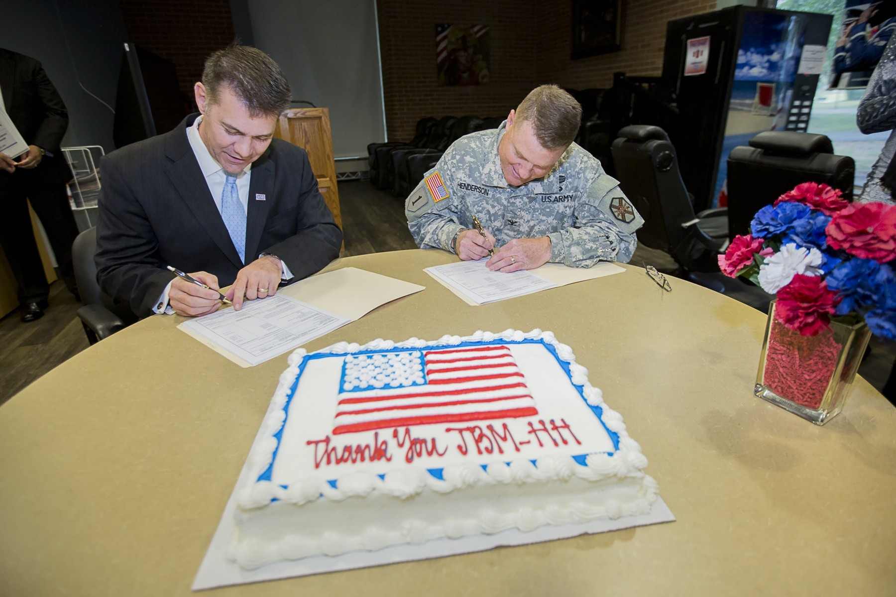 Joint Base Uso Make Long Standing Partnership Official With