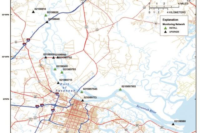 Preconstruction monitoring study moves Savannah harbor deepening
