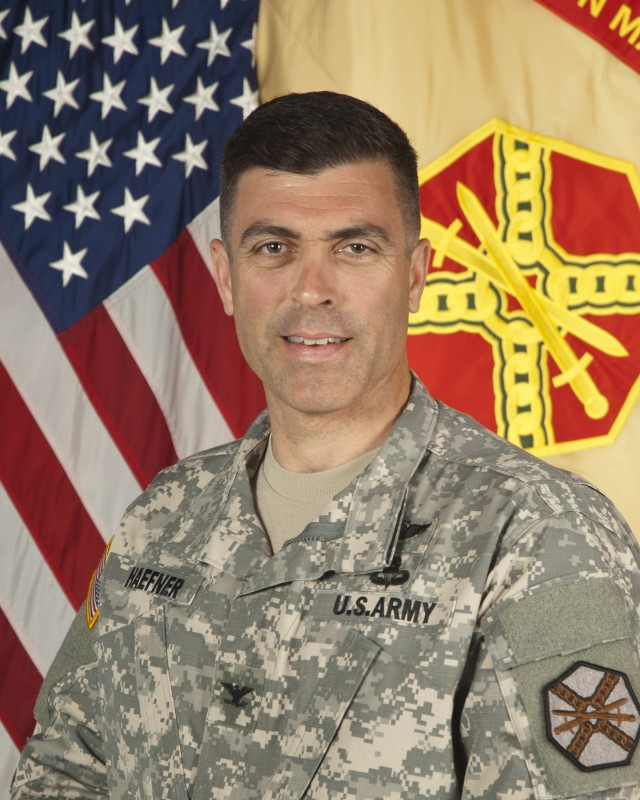 Col. Jack Haefner