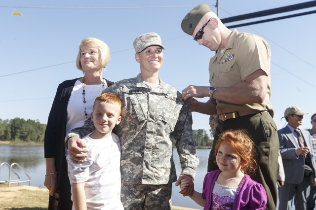 Maj. Lisa Jaster is first female Army Reserve Soldier to graduate Ranger School