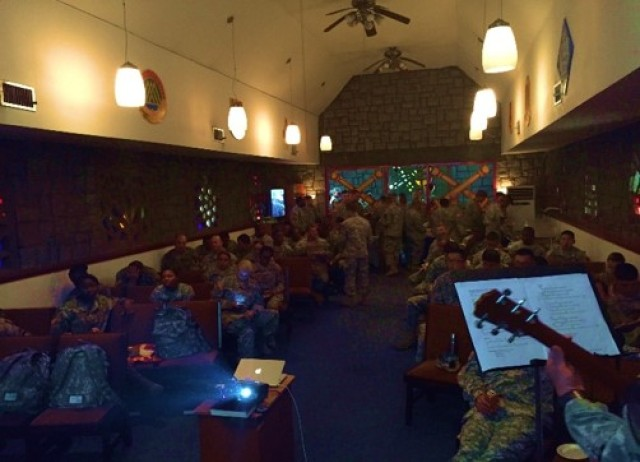Music, fellowship, and food -- the Grand Opening