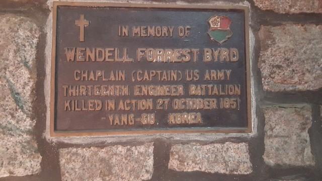 Stone Chapel Memoriam