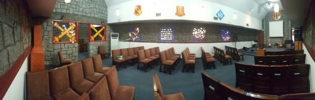 Stone Chapel New Interior