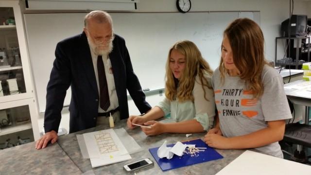 Students Learn How to Bridge Gap