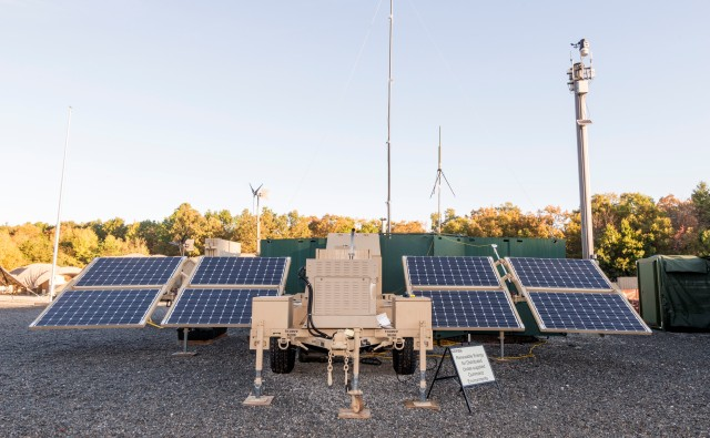Strategy charts path to fuel-efficient forward operating base
