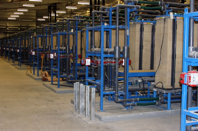 Fort Irwin Water Treatment Plant Reaches Construction