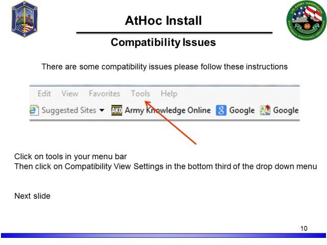 AtHoc Alert System