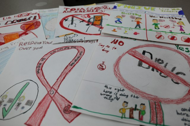 Arnn Elementary students participated in Red Ribbon Week held at the school Oct 26 to 30