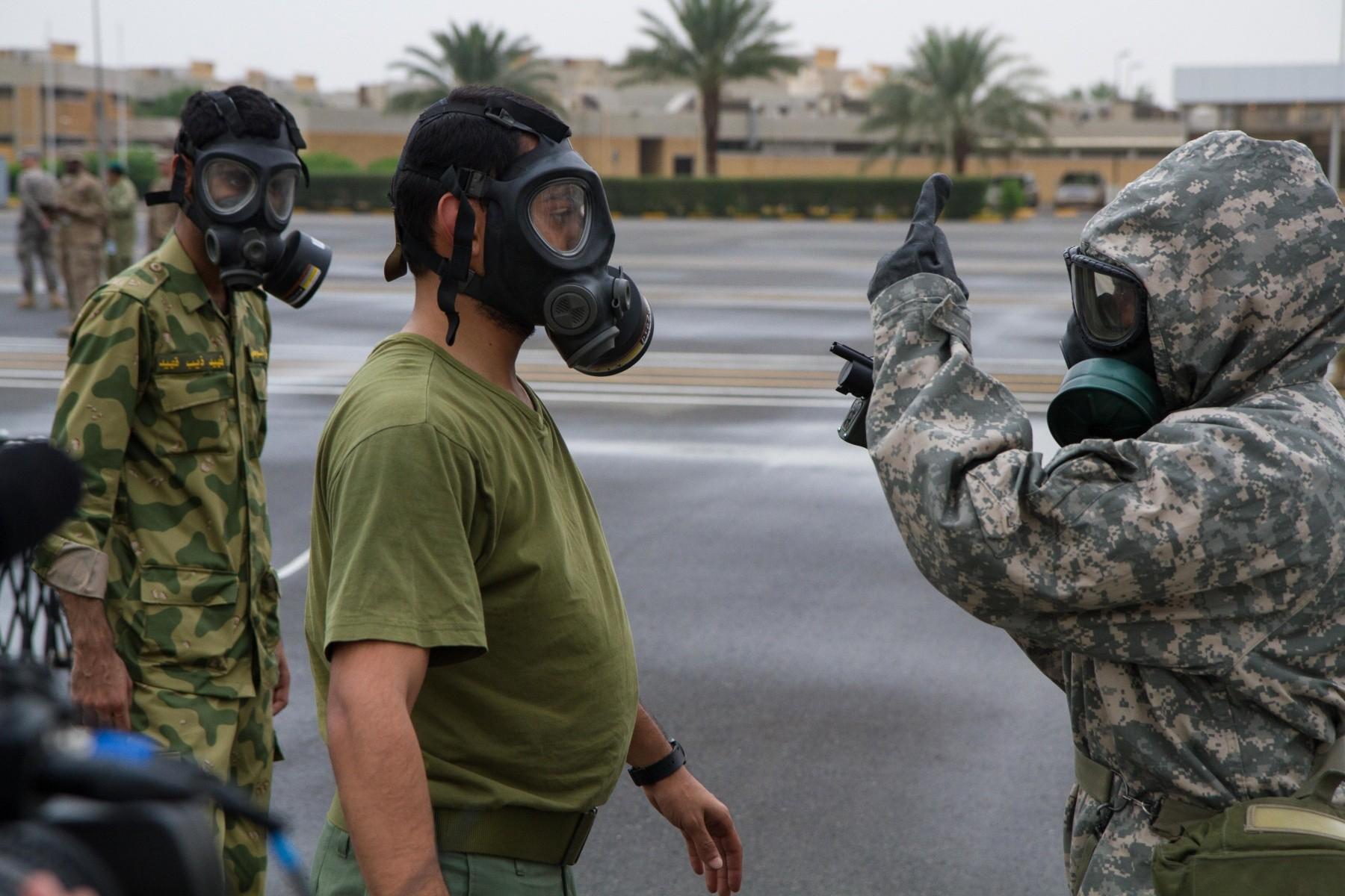 Chemical Threats >> Usarcent Kuwaiti National Guard Train For Cbrn Threats Build