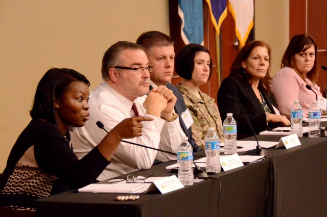 """The first-ever SHARP Academy Professional Forum  wrapped up with the """"Prevention & Response Discussion Panel."""""""