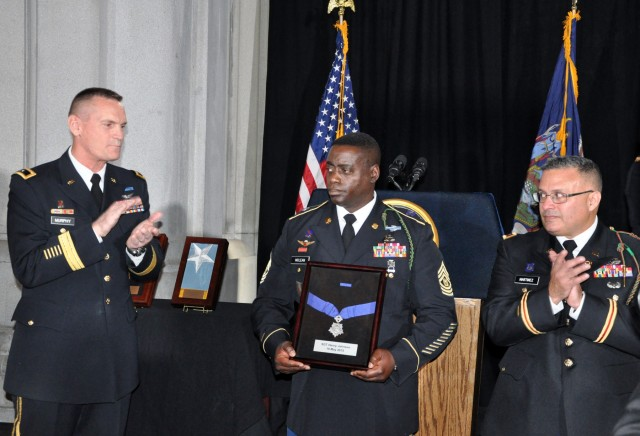 Henry Johnson honored with New York State Medal for Valor
