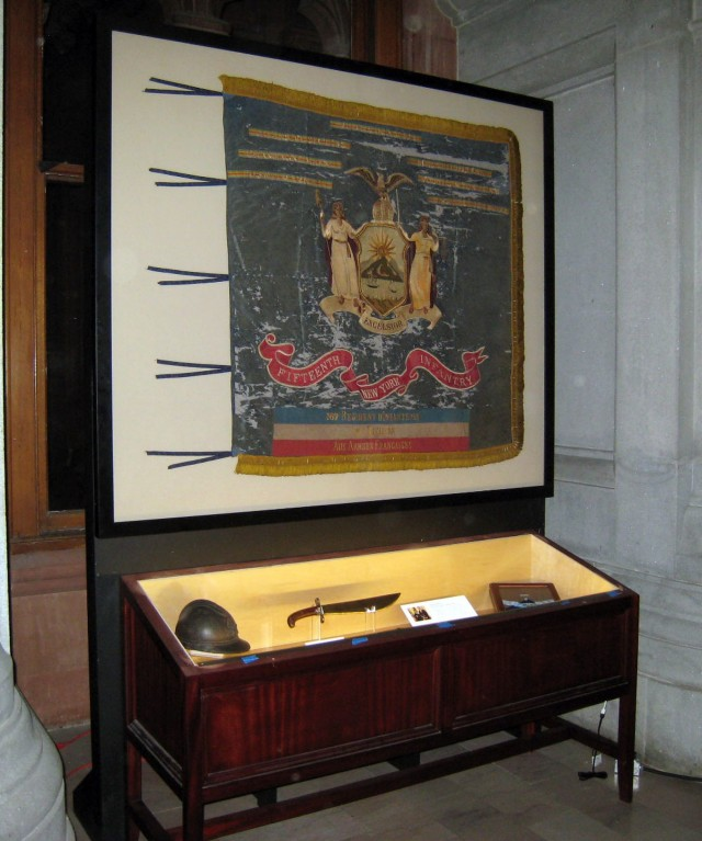 Henry Johnson Medal of Honor displayed in New York State Capitol
