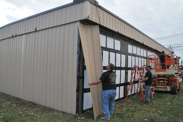 Fort drum participates in testing high performance - Exterior house insulation under siding ...