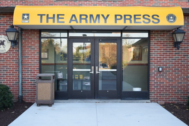 Army Press opens on Fort Leavenworth
