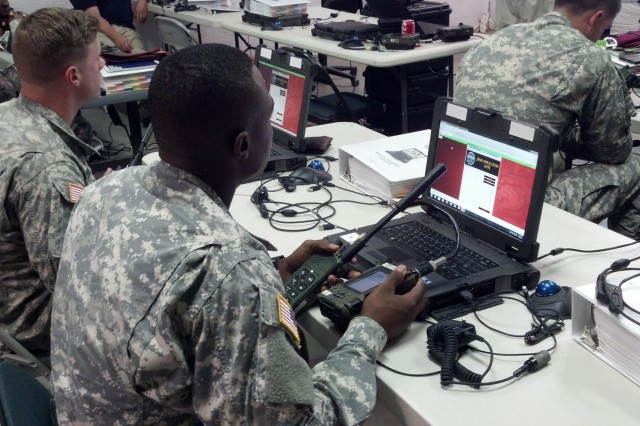 Soldiers, from the 2nd Brigade Combat Team, 82nd Airborne Division, received Joint Enterprise Network Manager new equipment training with the Joint Tactical Network Environment Netops Toolkit in early September 2015.