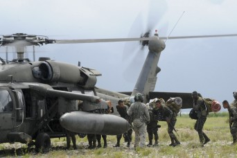 US supports Honduran troop rotation