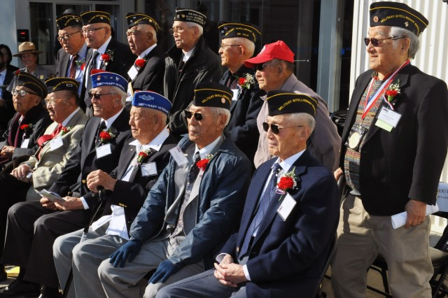 The National Japanese American Historical Society paid tribute to World War II Nisei veterans Nov. 14 at the Military Intelligence Service Historic Learning Center on Crissy Field in San Francisco.