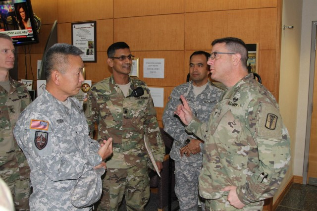 121 Combat Support Hospital Soldiers Assist Reservist With Medical Soldier Readiness Process