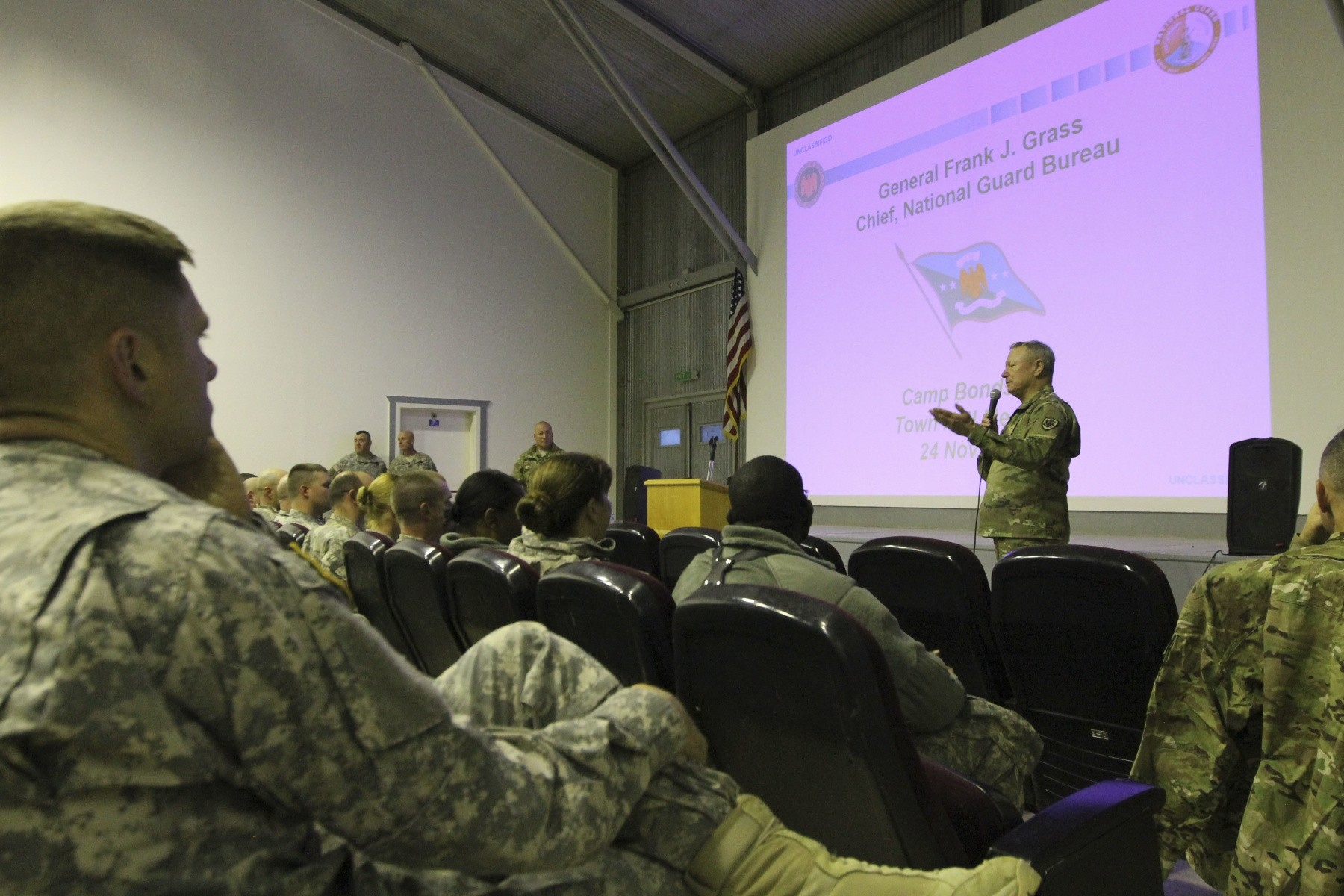 National Guard Bureau leaders visit troops in Kosovo Article