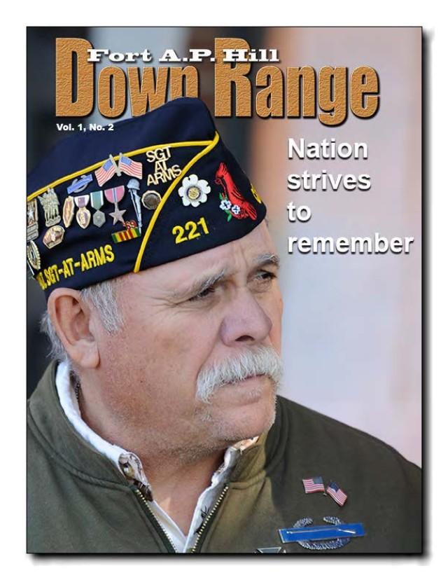 Down Range newsletter cover Volume 1 Edition 2