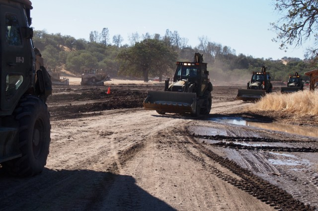 Army Reserve engineers provide critical support to the Total Army mission during deployments and save the Army thousands of dollars through troop projects on installations like Fort Hunter Liggett, California.