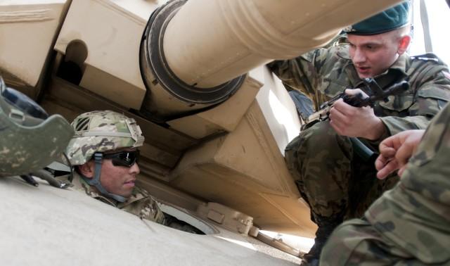 Army begins positioning equipment in Eastern Europe