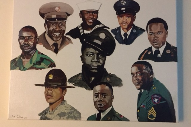 Members of the Mims Family have served in the military dating back to World War II.