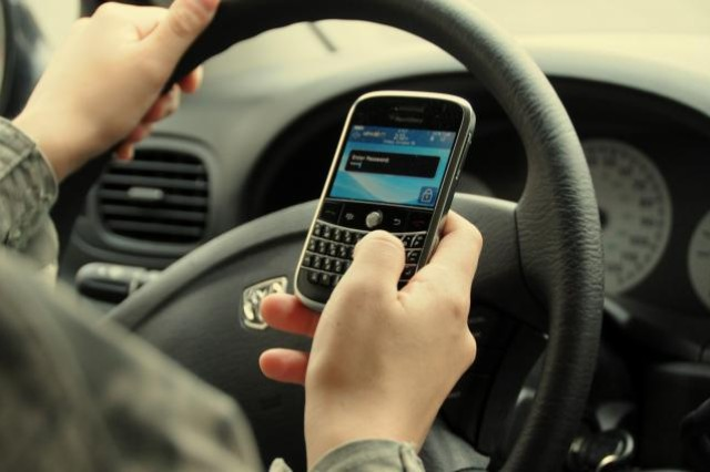 Driving while distracted is unsafe.