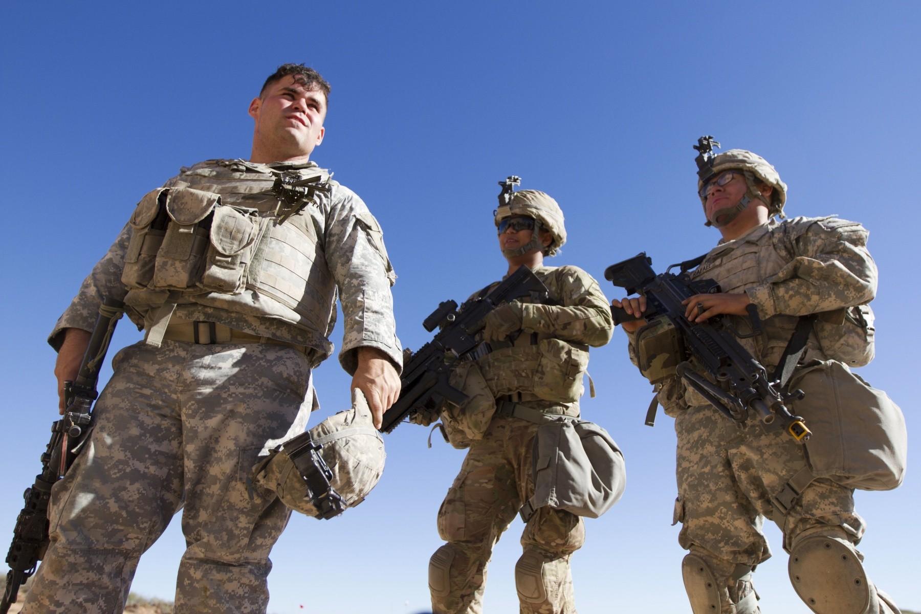 Army soldier hustler