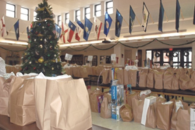 The 35th annual St. Nick's Benefit, sponsored by the Fort Leonard Wood Lions Club in conjunction with Army Community service, helps provide Christmas gifts to area underprivileged children and special-needs adults. This year, the benefit is providing gifts for more than 800 individuals.