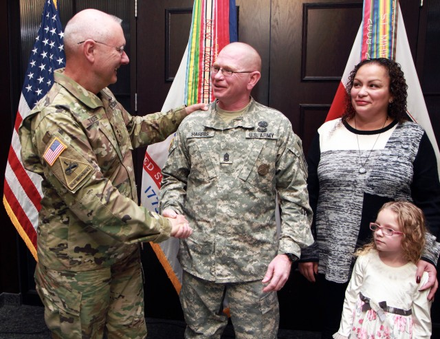 First Army Soldier appointed to command sergeant major