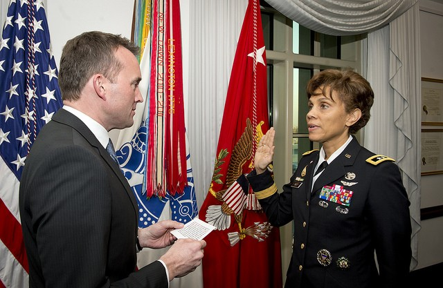Maj. Gen. Nadja West Sworn in as Surgeon General