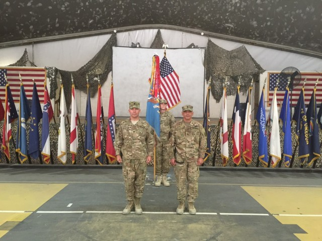 Assuming command of intelligence mission