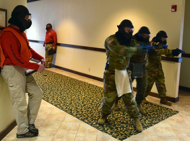 Federal agencies teach installation law enforcement officers to stay 'ALERRT'